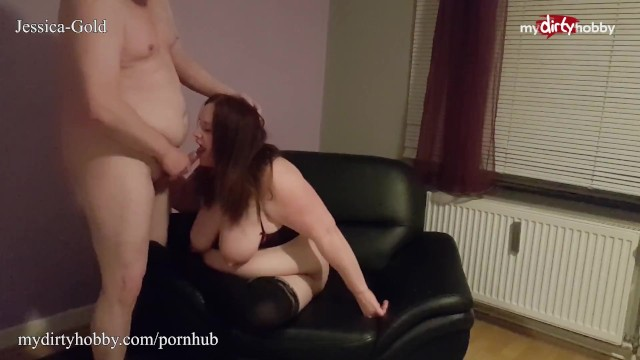 Pfetten naked Mydirtyhobby- bbw in stockings gets a huge cumshot after a rough fuck