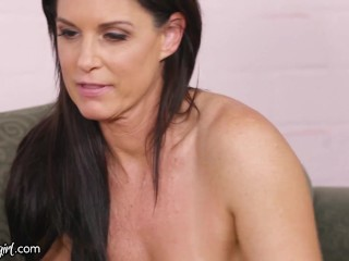 MommysGirl Aidra Fox's Stepmom Invites Her Old Friend For A Fun Girls' 3-Way