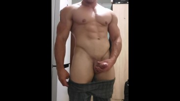 Muscle boy huge dick