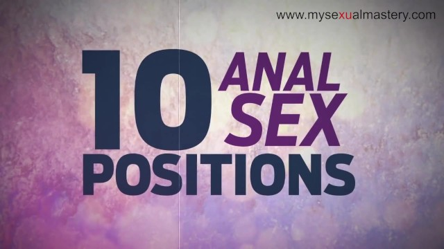 Sex position pictures from behind Best anal positions