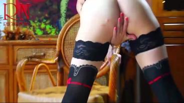 Maid Sexy Dancing in Black stockings #Maid #Dancing #stockings #panties #underwear #lingerie