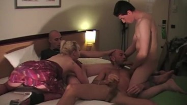 99 bisex orgy with gay bisex and straight boys