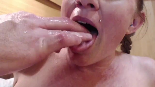 Spread her cunt open Tasting squirt and spreading open pierced bunnie lebowski creamy hairy ginger pussy