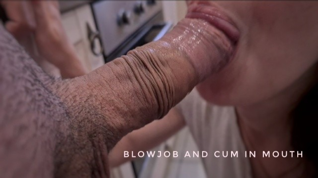 His cum videos He washed the dishes and i gave him a blowjob and got his cum