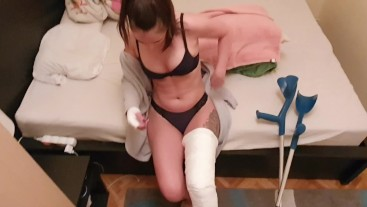LLC knee brace car accident roleplay pt1.