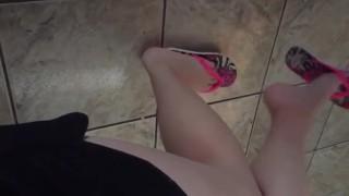 Película pornográfica - Tici_Feet Chanclas Havaianas Colgantes Al Revés Equilibrio O