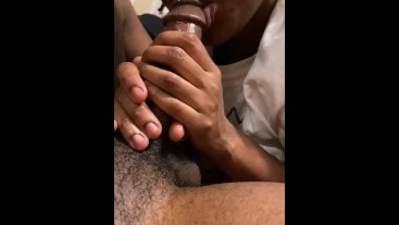 Nasty POV blowjob from my favorite midget