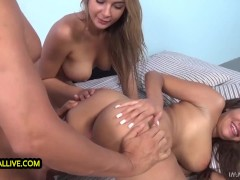 JUICY BOOTY & BIG BOUNCING BOOBS BABES CASSIDY BANKS & BLAIR WILLIAMS THREESOME