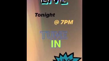 Live on Chaturbate tonight @ 7pm