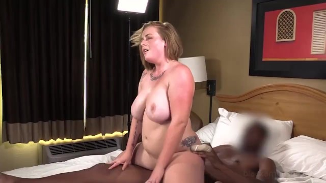 Anal ass black phat Busty phat strawberry blonde is surprised gets her 1st big black cock