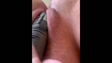 playing with my pussy doggy style