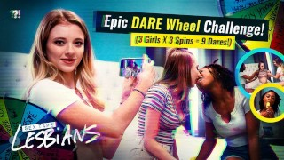 3 Hot Lesbians – Crazy DARE Competition Gets Sexual