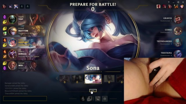 How do i masturbate How do i perform playing my main with a vibrator distracting me league of legends 8 luna