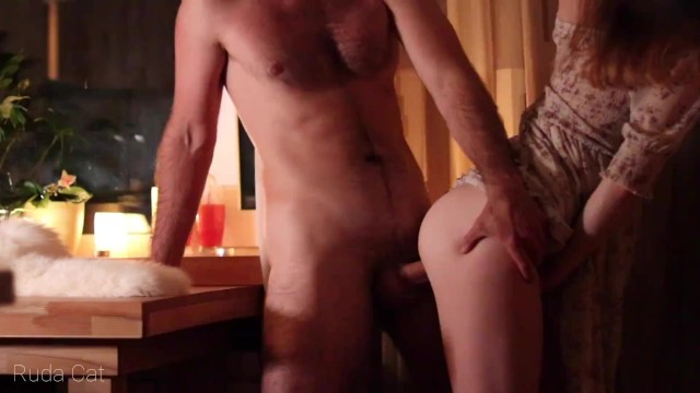 Real video camera sex Very best video romantic evening. amateur real sex mutual orgasm during anal fuck - ruda cat