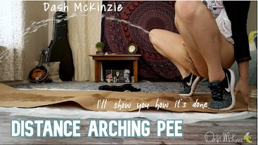 Distance Arching Pee