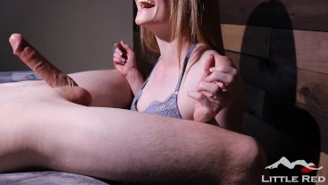 Speed Handjob With Ruined Orgasm