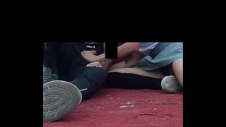 Sexo Publico, COGEN en la ESCUELA, ESTUDIANTE MEXICANA CACHONDA, Parte 1