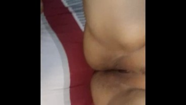 I eat my sexy latina gf's pussy then fuck her and leave her cum coverd.