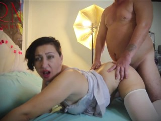 Hot fucking with a man and his maid. All women love men who cum on their cunt.