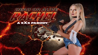 Curvy Blonde Babe RACHEL Gets Ass Fucked In DEAD OR ALIVE XXX