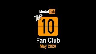 Pornhub Model Program Top Fan Clubs of May 2020