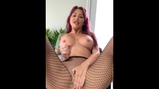 See me cum so hard while giving a JOI