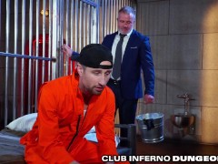 ClubInfernoDungeon - Prisoner Fucked & Fisted By Warden