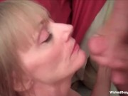 Making The GILF Cum With Facial