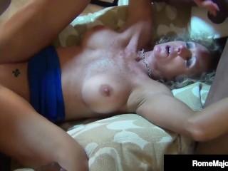 WTF - 3 Big Black Cocks & Rome Major & Drill Jade Jamison!