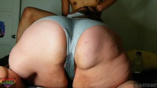 Making my bbw neighbor soak her panties