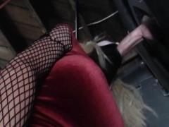 Amber Mei Neil - Monster Cock Gloryhole...