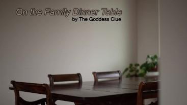 On The Family Dinner Table - AUDIO Story (Shrinking, Vore)