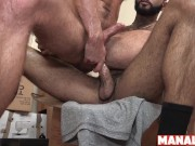 MANALIZED Brendan Patrick Fed Jizz After Bottoming For Hung Stud