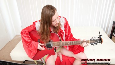Stephie Staar - Excited FanGirl Turned Into RockStar's Cock Slut