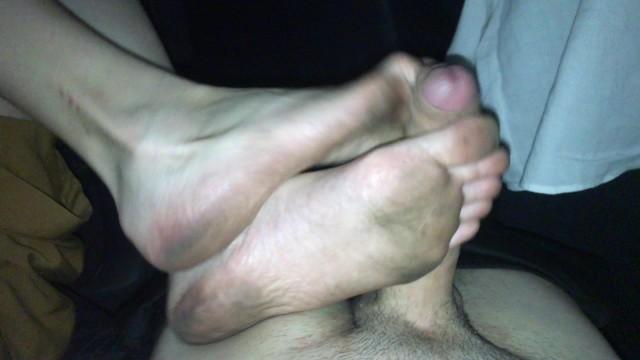 Footjob dirty Dirty Feet