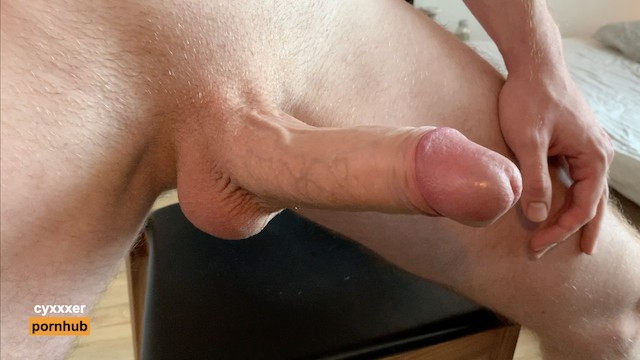 Hot sexy guys porn Moaning fit guy jerking off his big dick - close up - cumming hard - cumshot - hot solo male