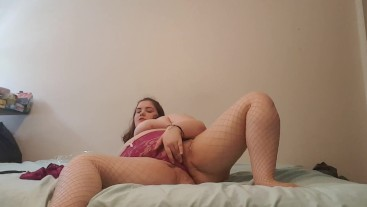 BBW Plays in New Lingerie