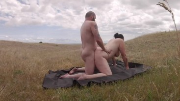 Slut milf wanted to be choked, spanked and fucked outdoors.
