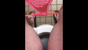 Pissing In A Walmart Bathroom