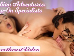 Sweetheart - Big Tit Romi Rain Gets Strapon Fucked by Penny Barber
