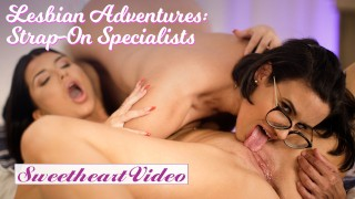 Sweetheart – Big Tit Romi Rain Gets Strapon Fucked by Penny Barber