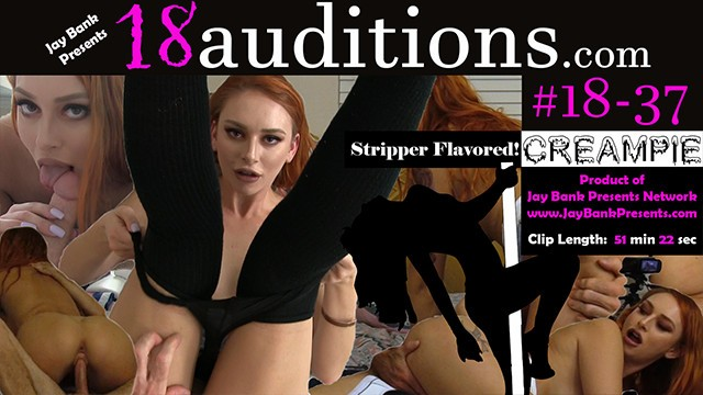 Penis foreskin red 18-37 red head amateur creampie - 18auditions x jay bank presents