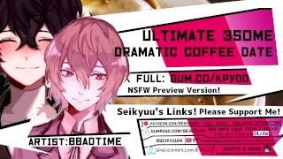 [Binaural NSFW ASMR] Joker and Akechi's Love Triangle with You! (Persona 5)