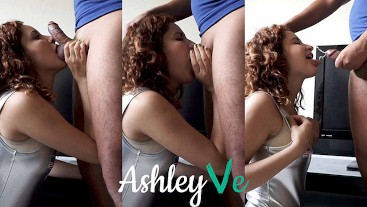 Patriotic Blowjob on Independence Day - Ashley Ve