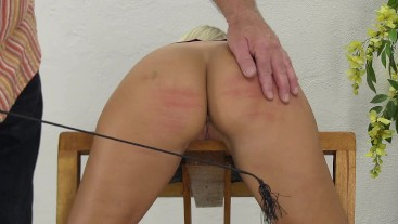 Lola's ass whipping by crop 3006