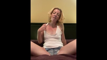 Jean Shorts, Sex Toys and Orgasms