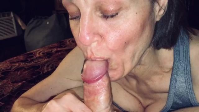 Mature ladies enjoying sex utube Mature milf sucks his cock dry and enjoys cum