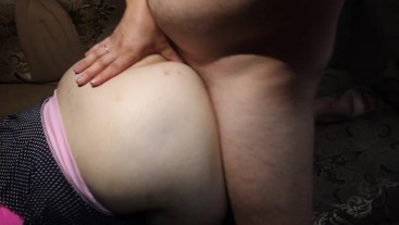 Her anal created for hard fucking (creampie)