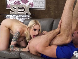 GIRLSRIMMING - Gorgeous hot rimming with Russian blonde Arteya Dee
