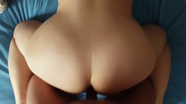 Big Butt Bouncing - Doggy Style with Hot Wife - Perfect Ass!!